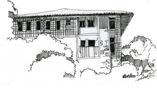 Maison typique de Rize