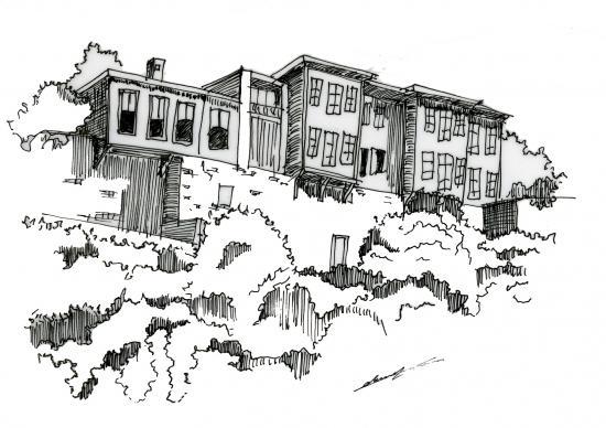 Maison typique de Samsun