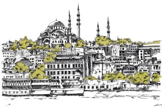 La mosquée Sülimaniye
