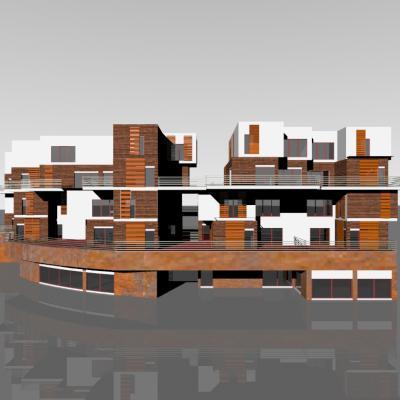 Intermediate collective housing - Denizli